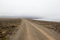 Straße Langanes